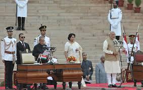Modi Taking Oath