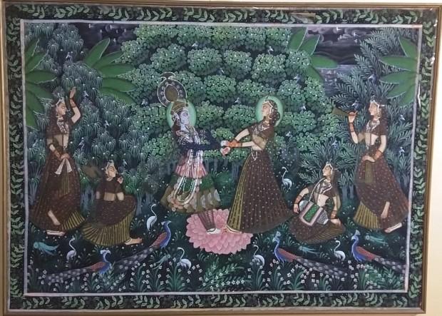 Dancing Lord Krishna